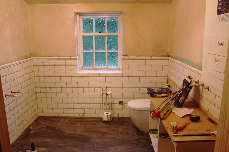 tiling-gets-underway